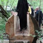 Mme Filippetti Ministre de la culture inaugure les maisons sylvestre
