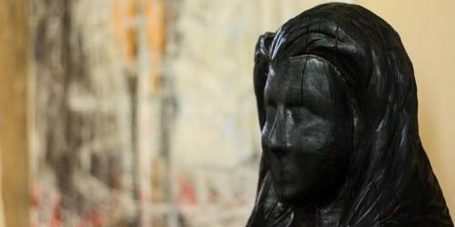 sculpture bois brulé