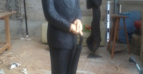 sculpture terminée